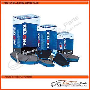 Protex Blue Front Brake Pads for FORD LASER LXI KJ 1.6L Sedan - DB1177B