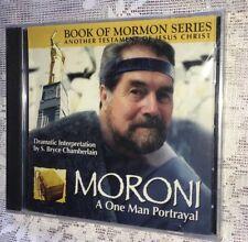 MORONI A ONE MAN PORTRAYAL Book Of Mormon Series Cd LDS