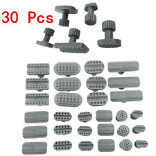 30 Pcs Thickened Dent Puller Glue Pulling Tabs Car Body Repair Tool Kit 10 Sizes