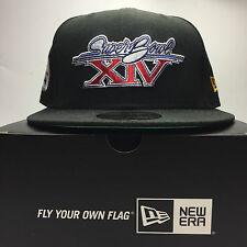 New Era 59Fifty Super Bowl XXII 7 1/4 Fitted Baseball Cap Black   Free Post