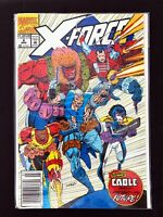 X-FORCE #8 MARVEL COMICS 1992 VF/NM NEWSSTAND EDITION HTF 1ST APP. DOMINO