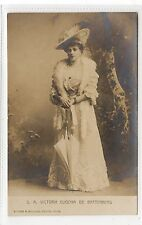 S.A. VICTORIA EUGENIA DE BATTENBURG: German Royalty postcard (C28273)
