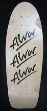 "Alva Tri Logo Reissue Pig Skateboard Deck 9.75"" x 29.5"" NEW"