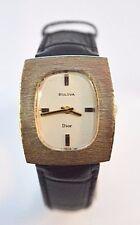 W158-Unique Vintage 14K Gold Bulova Dior,Mechanical Watch,  Rare!