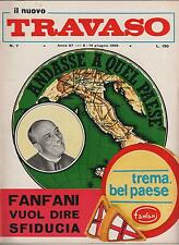 IL NUOVO TRAVASO delle idee N.7 1966 trav-edit DINO VERDE