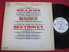 RARE CLASSICAL PROMO LP - BRUNO WALTER - BRAHMS WAGNER - COLUMBIA ML 5887