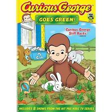 Curious George Goes Green (DVD, 2009) New & Sealed