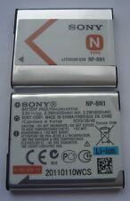 GENUINE SONY BATTERY NP-BN1 3.6V  630mAh 2.3Wh ORIGINAL