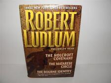 1994 Robert Ludlum Triad HOLCROFT COVENANT MATARESE CIRCLE BOURNE IDENTITY