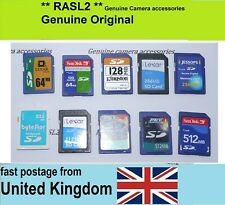 64MB 128MB / 256MB 512MB SD Memory card For Old Digital Camera And Other Devices