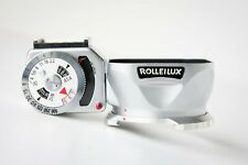 ROLLEI ROLLEILUX BAY 1 LENS HOOD LIGHT METER & CASE for Rolleiflex 3.5 CAMERA