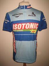 Isotonic Cyndarella Swiss vintage 80's jersey shirt cycling trikot maglia sz XL