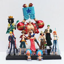 10pcs / set Free Shipping Japanese Anime One Piece Action Figure Collection