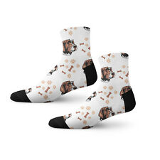 Wirehaired Pointing Griffon Dog Breed Fun Cool Novelty 3.5 in Men Women Socks