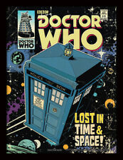 More details for doctor who lost in time and space framed print