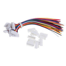 10Pcs 6S1P Lipo Battery Balance Charger Connector Adapter Plug Cable Wire 150MM