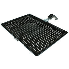 Cooker Oven Grill Pan Tray With Rack & Handle For Bosch 380mm X 270mm