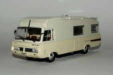 Miniature Véhicule IXO CAMPING CAR 1/43e Le Maillet Eric 3 sur PEUGEOT J7 1976