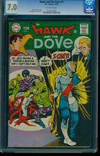 Hawk and Dove 1 CGC 7.0 Silver Age Key DC Comic 1st App. in title L@@K