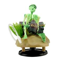 Aquarium Skeleton on Wheel Action-Air Fish Tank Decoration Ornament Landscape FA