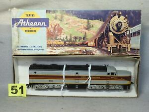 ATHEARN HO SCALE #3309 ERIE LACKAWANNA PA-1 DIESEL LOCO,EXCELLENT, READY TO RUN