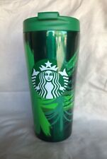 Starbucks Pine 🌲 Green Stainless Steel Tumbler Cup 16 Oz 2014. NWT!