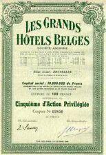 Les GRANDS HÔTELS BELGES - Palace Hôtel