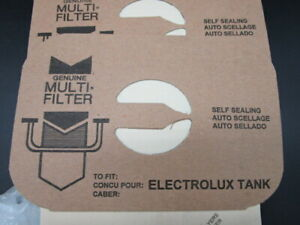 ELECTROLUX Style C Bags Canister Vacuum Type Tank Multi Filter 4-ply 8 Bags