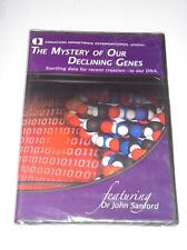 THE MYSTERY OF OUR DECLINING GENES by Creation Ministries International NEW DVD
