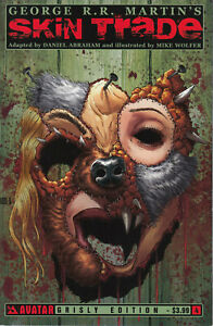 Avatar Press Skin Trade #4 of 4 (Grisly Cover) 2013 Very Fine