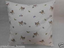 Bambi Nursery Cushion Cover - Disney - 40cm x 40cm 100% Cotton Perfect Gift!!