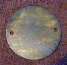 HD point cover -THE RAT --solid brass - for evo  shovel and sportster