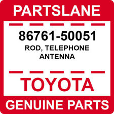 86761-50051 Toyota OEM Genuine ROD, TELEPHONE ANTENNA