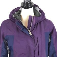 Lands End Girls Hooded Squall Jacket Sz L/Xl 16 Waterproof Breathable Windproof
