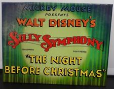 Walt Disney Silly Symphony The Night Before Christmas Pin Badge Set