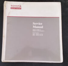 TOYOTA FORKLIFT SERVICE MANUAL ELECTRIC  STAND UP 6BR/S  SERIES