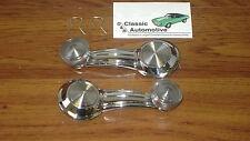 Window Cranks Handles Pair *In Stock* Clear Knob door winders GM cars and trucks