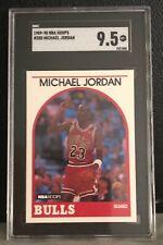 1989-90 NBA HOOPS - MICHAEL JORDAN - CARD #200 - HOT RARE SGC 9.5 MINT+ POP 157!