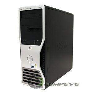 Dell Precision 490 Computer Intel Xeon 5150 CPU 120GB -1TB Hard Drive 4-12GB RAM
