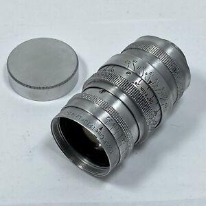 Kodak Cine Ektar 50mm f1.9 movie lens. C-mount.  For 16mm Cameras. Clean Glass.
