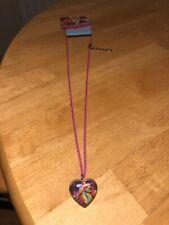 Disney Princess Pendant Necklace Kids Girls