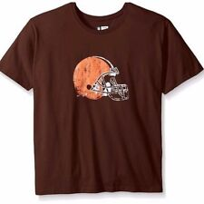 NFL Cleveland Browns Womens Plus Size Short Sleeve Screen Print Tee 2x Brown 2449babe9