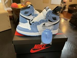 Nike Air Jordan 1 Retro High OG GS 575441 - 134 White University Blue Sz 6Y