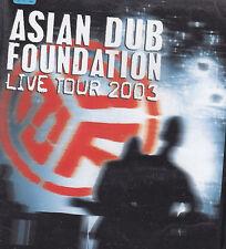 ASIAN DUB FOUNDATION - live tour 2003 DVD