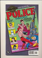 Police Comics #1 DC Comics Millennium Edition! SEE SCANS! KEY BOOK! WOW!