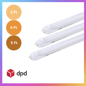 T8 LED Tube 2ft 4ft 5ft Cool White 4000k Ahead BRAND Fluorescent Replacement