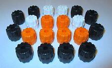 Lego,20 Räder Weltraum Mars Mission Space Rad 6118 Hartplastik Schwarz weiß,kg