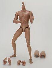 1:6 Fitness Male Muscular Body Flexible Nude Body Doll Figure