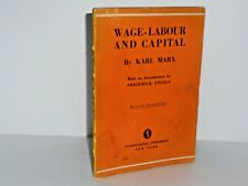 Wage-Labour and Capital by Karl Marx 1933 - introduction by Frederick Engels