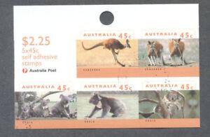 Australia-Wildlife Series II-1459b self-adhesive sheetlet -f.used-cto